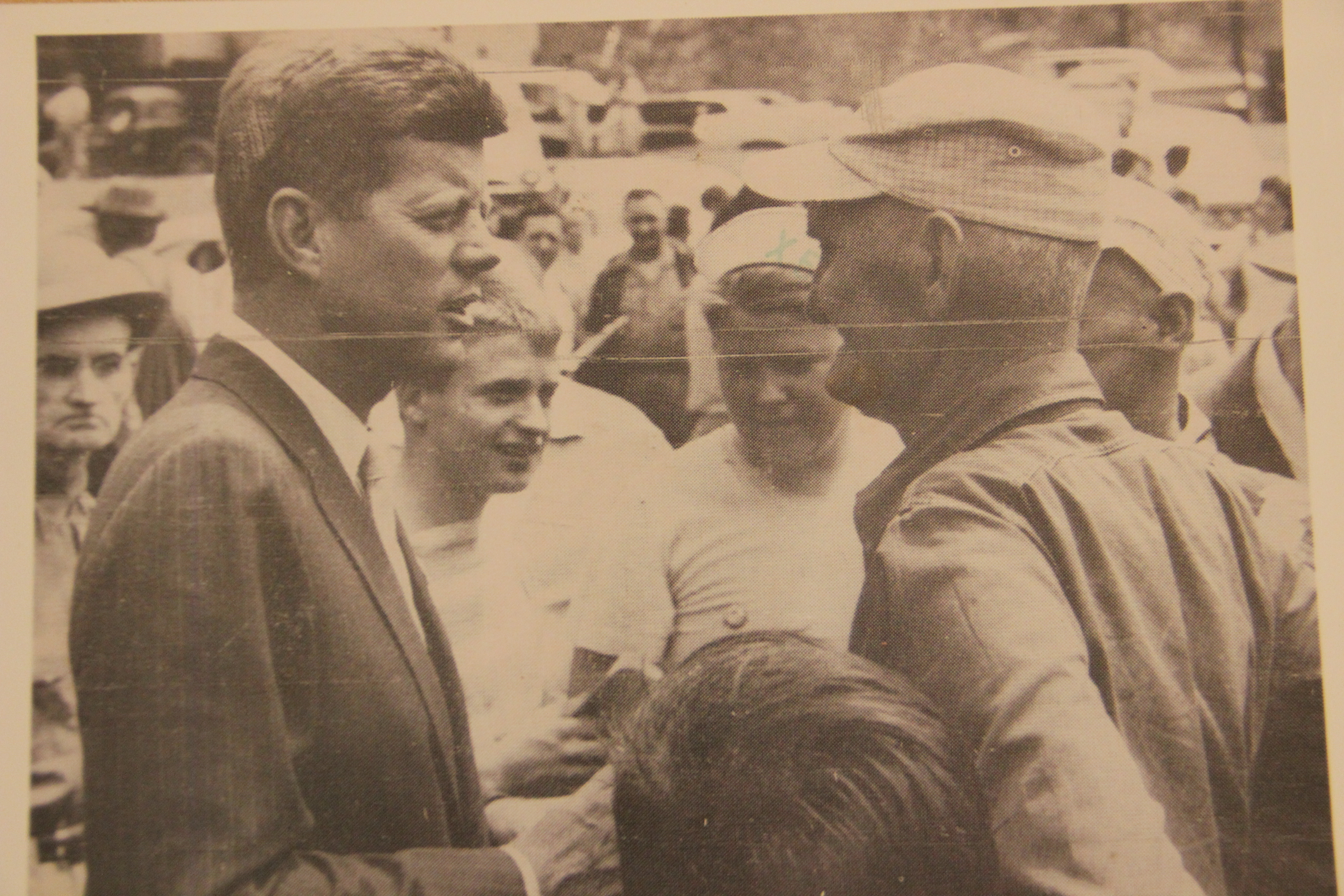 John F. Kennedy campaigning in Mingo County