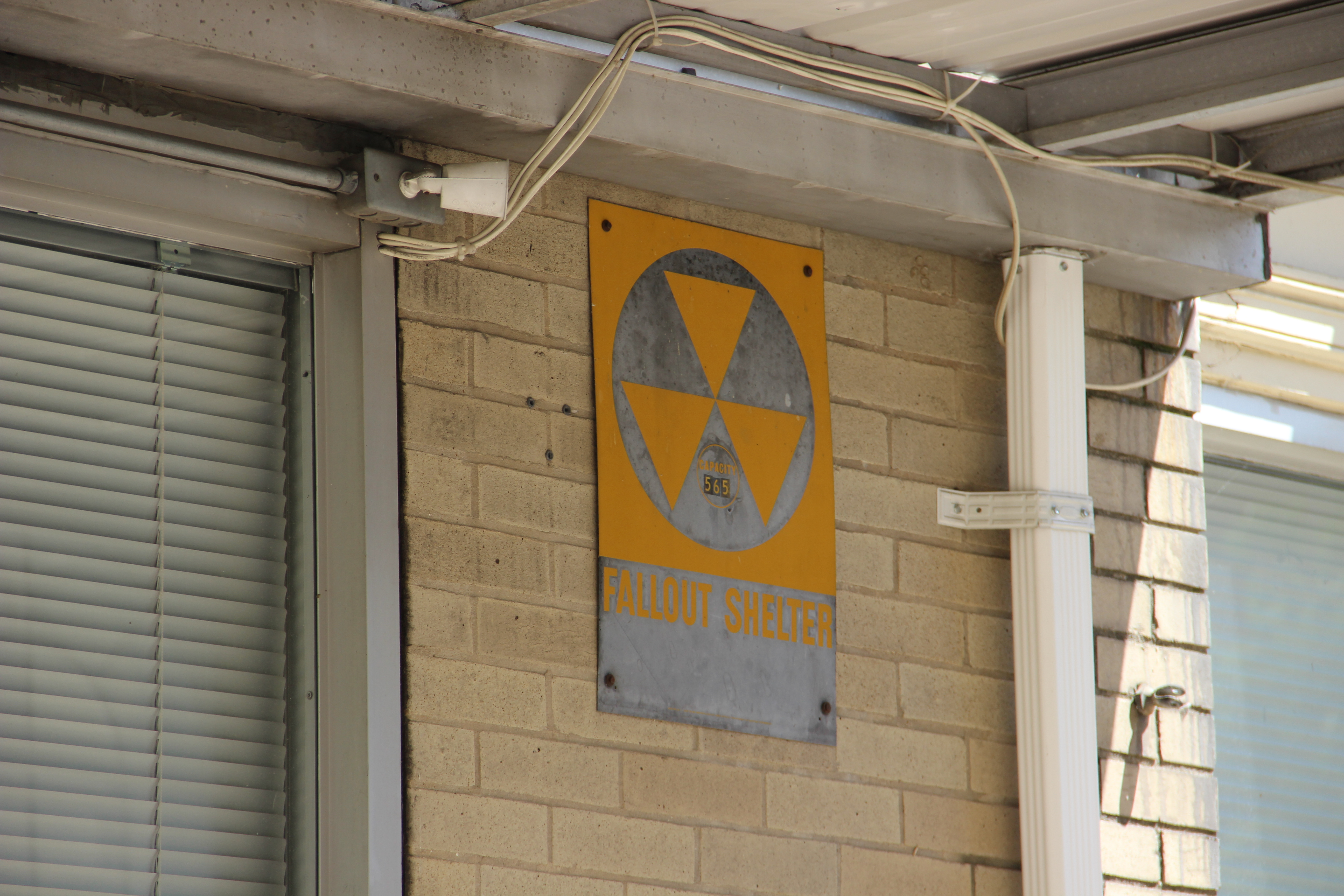 Cold War era fallout shelter