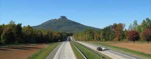 Pilot Mountain from the south on U.S. Route 52 PHOTO Courtesy: Christopher Ziemnowicz