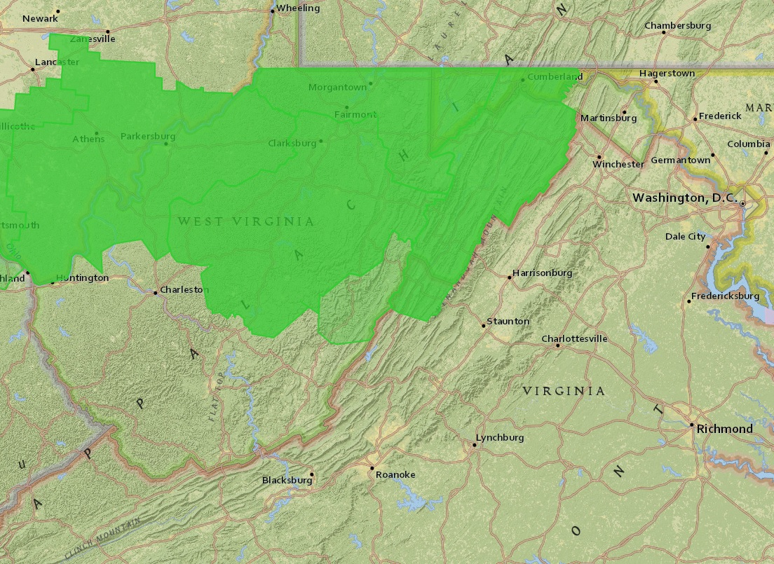 Flash Flood Watch Issued For 33 WVa Counties  July 3