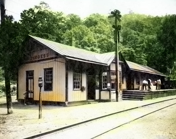 Dingess Train Depot,, 1890 - 1915 era