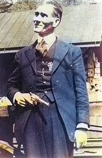 """Smile'n Sid Hatfield"", the legendary Matewan gunslinger"