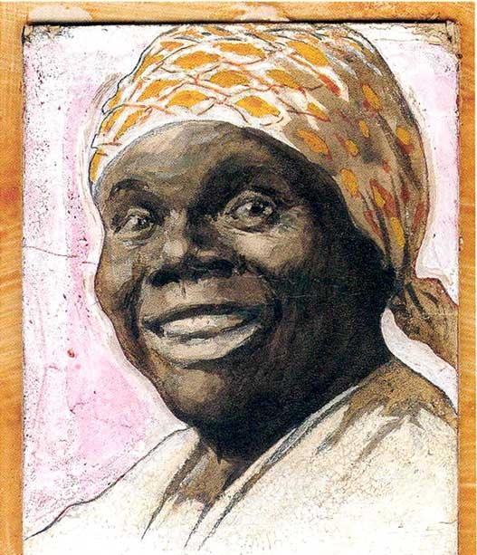 Portrait of Green as Aunt Jemima, by A. B. Frost