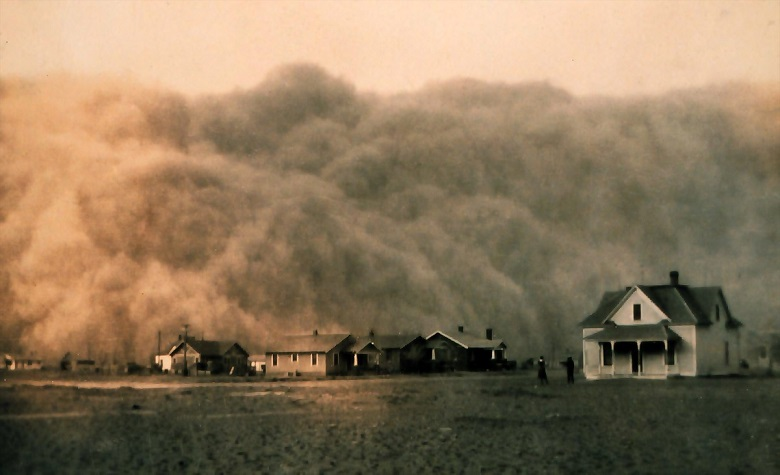 PHOTO: NOAA George E. Marsh, Stratford, Texas, April 18, 1935
