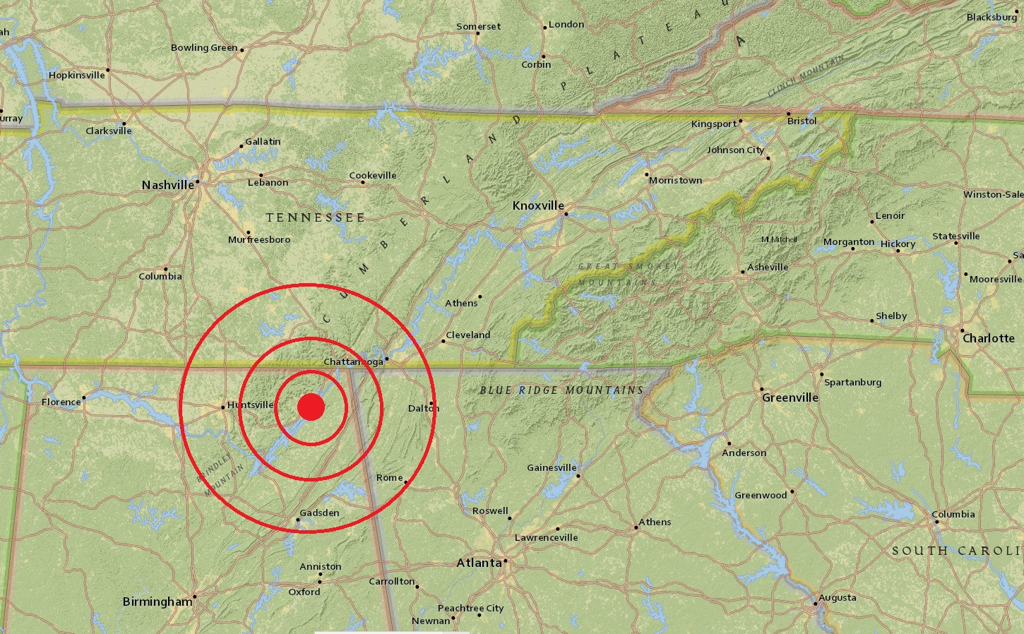 Alabama Earthquake