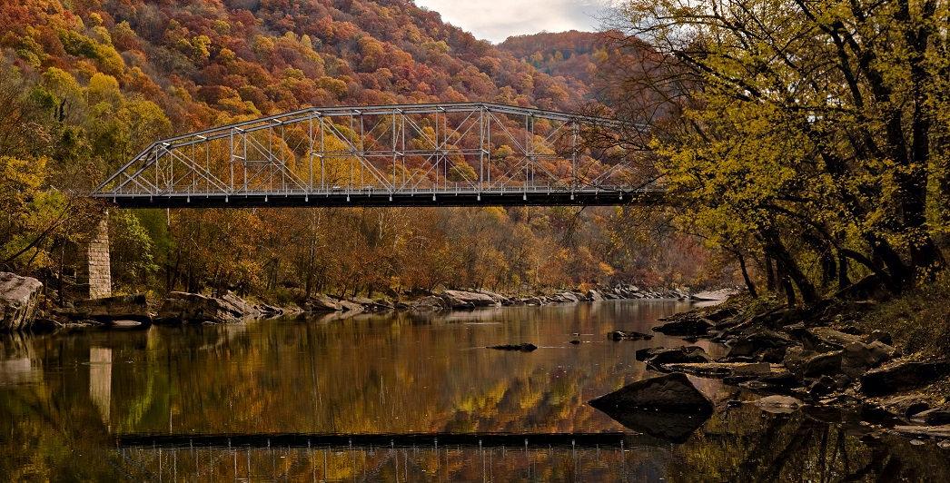 PHOTO: New River in West Virginia, courtesy of JaGa