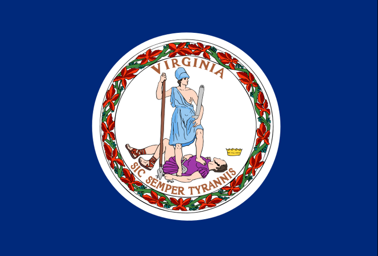 Flag: Commonwealth of Virginia