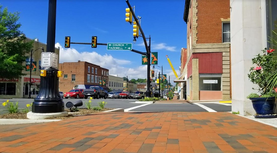 Photo: Downtown Wytheville, courtesy of Town of Wytheville.