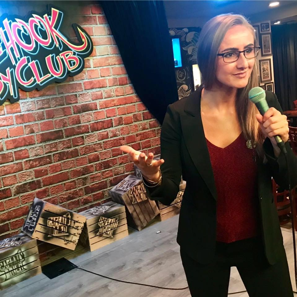 Kristina Montuori: Former Meteorologist Finds Comedy to